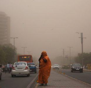 Cómo se forman las tormentas de arena que han dejado más de 125 muertos en India
