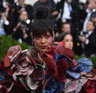 Rihanna en la gala del MET de 2017