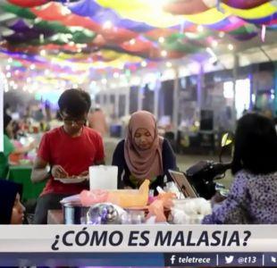 [VIDEO] Cómo es Malasia, el país donde dos chilenos arriesgan morir en la horca