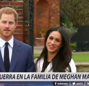 [VIDEO] La polémica carta del cuñado del príncipe Harry