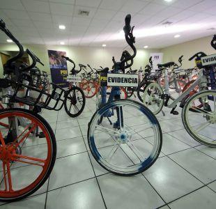 [VIDEO] PDI logró recuperar más de 60 bicicletas Mobike robadas