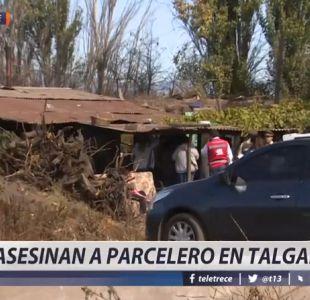 [VIDEO] Apuñalan hasta matar a parcelero en su propia casa en Talagante