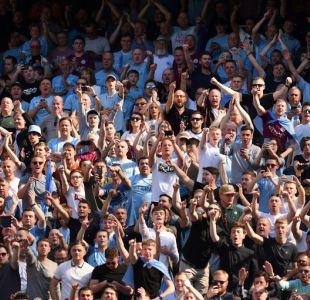 Hinchas del Manchester City dedican mensaje a Alex Ferguson en celebración del título de liga