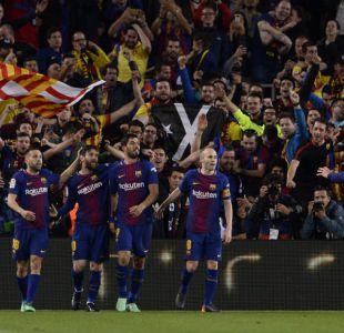 Barcelona y Real Madrid igualan en el último derbi de Andrés Iniesta