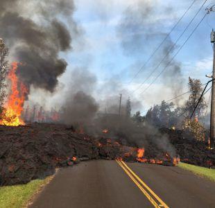[VIDEO] Las impactantes imágenes de la erupción del Volcán Kilauea en Hawái