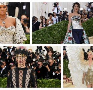 Varias famosas impactaron en la gala del MET 2018