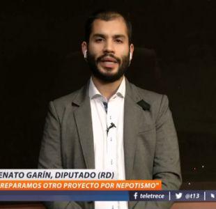[VIDEO] Renato Garín, diputado FA: Los dichos del Fiscal Nacional son de la máxima gravedad