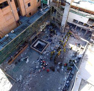 Familiares de una de las víctimas de explosión en Sanatorio Alemán presentan querella