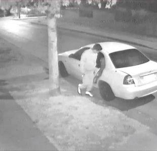 [VIDEO] Víctima de asalto asegura que carabineros le negaron ayuda