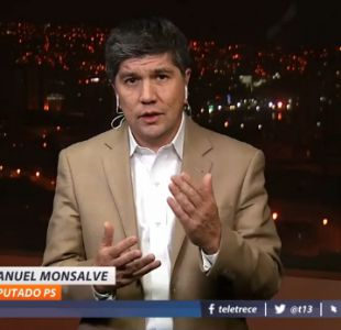 [VIDEO] Manuel Monsalve (PS): El ministro Larraín ha sido confuso y contradictorio