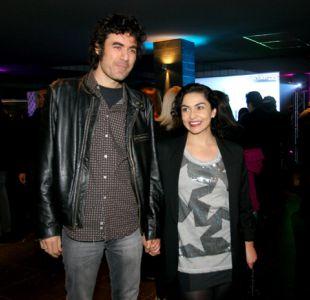 Sebastián Araya y Tamara Acosta
