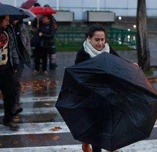 [VIDEO] ¿Dónde lloverá este miércoles en la región Metropolitana?