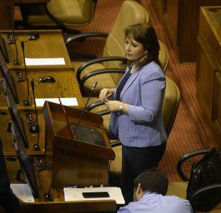 Marcela Hernando en la interpelación al ministro de Salud