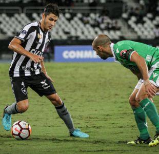 [VIDEO] Hincha de Botafogo se quiso sacar una selfie en partido ante Audax pero algo salió mal