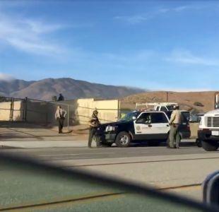 [VIDEO] Una persona bajo custodia por tiroteo en escuela de Los Ángeles en Estados Unidos
