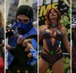 [FOTOS] Las principales postales de los cosplayers en la segunda jornada de Comic Con 2018