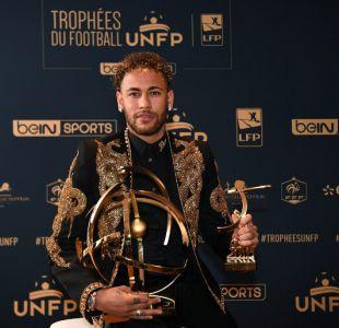 Neymar es escogido como mejor jugador del fútbol francés y elude pregunta sobre su futuro en el PSG