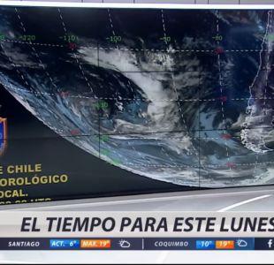 [VIDEO] A seguir esperando: lluvias se resisten a caer sobre Santiago