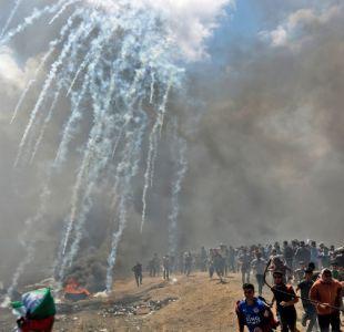Al menos 41 palestinos muerto en enfrentamientos con el ejército de Israel