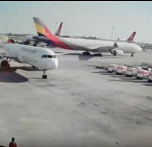 [VIDEO] Pasajeros del aeropuerto de Estambul vivieron tenso momento