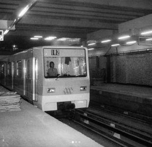 El antes y después de la Línea 1 del Metro a 43 años de su marcha blanca en Santiago