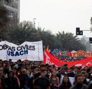 Conoce los desvíos que habrá este miércoles en Santiago por la marcha contra la violencia machista