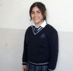 Niña venezolana que lleva dos meses en el país ganó concurso de historia de Chile