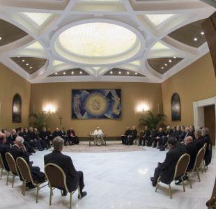 [VIDEO] Obispos vuelven con tarea cumplida a segunda reunión con el Papa Francisco