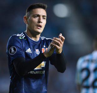 [VIDEO] Matías Rodríguez con un pie fuera de la U y seleccionado chileno sería su reemplazo