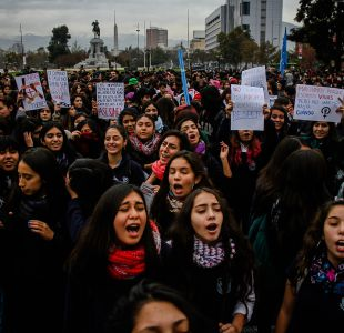 [VIDEO] Estudiantes marchan contra la violencia machista por la Alameda