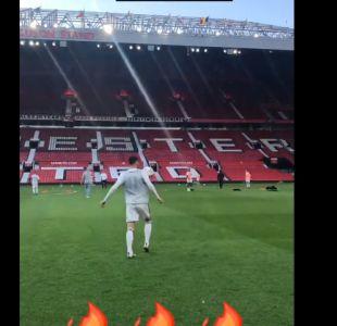 [VIDEO] El increíble control de balón de F2 Freestylers en desafío en Old Trafford