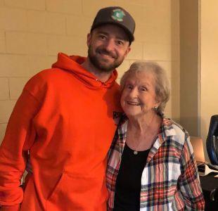 [VIDEO] La inolvidable sorpresa que Justin Timberlake dio en un concierto a una fanática de 88 años