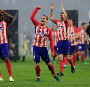 [VIDEO] Los goles con que Atlético de Madrid se coronó campeón de la Europa League