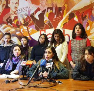 Confech tras manifestaciones feministas