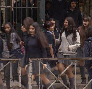 [VIDEO] Estudiantes exigen cambio de colegios monogéneros a mixtos