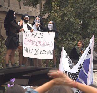 [VIDEO] Marcha contra el acoso: Las mujeres se tomaron la calle