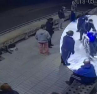 [VIDEOS] Detective de la PDI frustró asalto a su vehículo justo afuera de su brigada