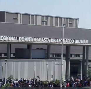 [VIDEO] Hospital Regional de Antofagasta es evacuado por posible fuga de gas
