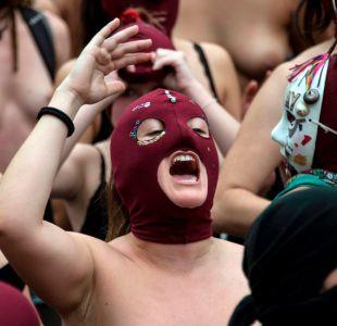 BBC Mundo: La marcha en topless contra la violencia machista en Chile