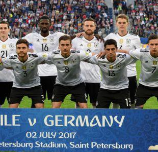 [VIDEO] Los alemanes que le ganaron a Chile la Copa Confederación y tampoco irán a Rusia