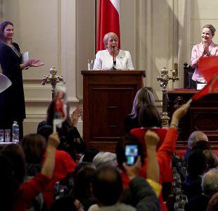 Bachelet: Hicimos reformas porque eran necesarias, no por gusto
