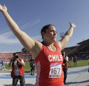 Natalia Ducó bate su propio récord nacional en el lanzamiento de la bala