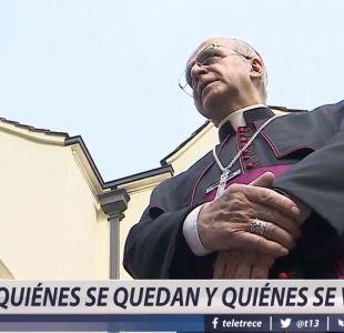 ¿Qué obispos se quedan y quiénes se van?