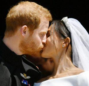 [VIDEO] Boda Real: el romántico beso de los duques de Sussex