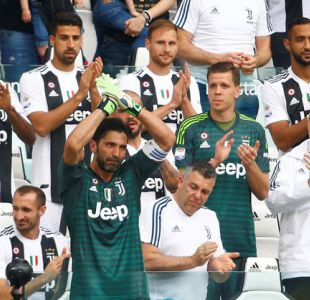 El emotivo momento en el que Gianluigi Buffon dejó la Juventus
