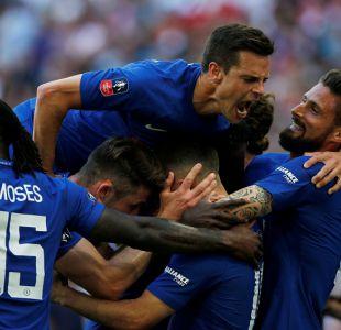 Chelsea se consagra campeón de la FA Cup en la primera final de Alexis con el Manchester United