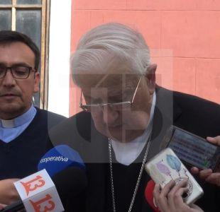 Monseñor Alejandro Goic, obispo de Rancagua