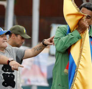 El mensaje de Maradona a Maduro tras las elecciones en Venezuela