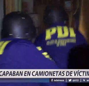 [VIDEO] Detienen a peligrosa banda de Peñalolen