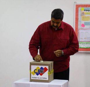 [VIDEO] Maduro abre con su voto sus cuestionadas elecciones en Venezuela